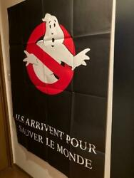 Miracle 1984 French Version Vintage Ghostbusters Super Oversized Poster