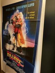 French Version 1989 Back To The Future Super Oversized Poster