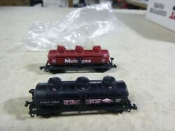 13 N Scale Freight Car /-tank Cars  Lot Of 2