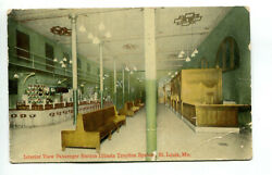 Passenger Station Southern Illinois Traction System St. Louis Vintage Postcard $8.99