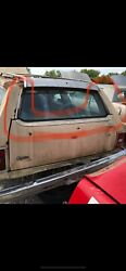 1978 Chevy Caprice Wagon Tailgate Outer 3 Pieces Trim - Oem - Straight Vhtf