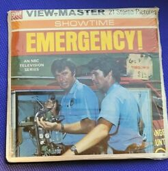 Sealed B597 Emergency Fireman Fire Dept Nbc Tv Show View-master Reels Packet