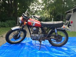 1970 Hond Cl 350 - With Title And Key - Easy Restorationandnbsp