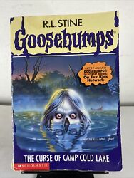 Goosebumps 56 The Curse Of Camp Cold Lake - 1st Print 1997 Paperback
