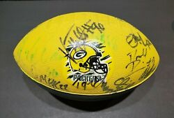 Incredibly Rare Autographed 1999 Green Bay Packers Football Donald Driver 13 ++