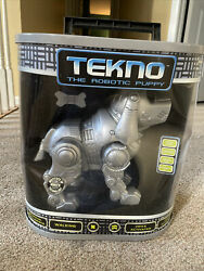 Tekno Robotic Puppy Interactive Toy - New In Box