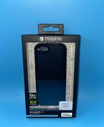Mophie Juice Pack Air For iPhone 5 5s SE first Generation battery case black