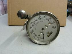 Vintage Early Brass Era Cadillac 60 Mph Speedometer Pat. Date 1909 Gm Nice