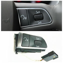 Ad Steering Wheel Voice Volume Control Right Switch For Audi 2007-10 A8 Quattro