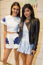Zara Gorgeous Leather Biker Jacket As Worn By Kendall Jenner - Xs Extra Small