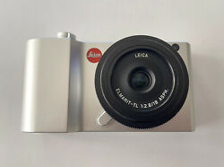 Leica Tl2 Mirrorless Digital Camera With 18mm Lens And Accessories Mint - Silver