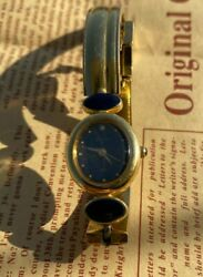 Vintage Very Rare Gold Plated Aq0554 Orient Women Watch - 1980s