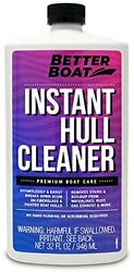 Better Boat Hull Cleaner For Fiberglass And Painted Boats Cleaning Marine Stain