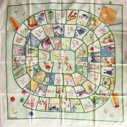 Hermes Carre 90 Scarf Happy Mass Game Dumas Large Format Carre