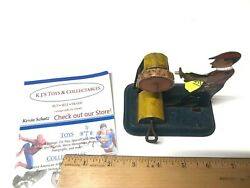 Girard 1930s Tin Litho Wind-up Flasho The Grinder With Keyandnbspworks Nice Early