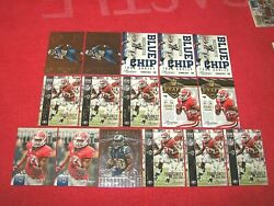 TODD GURLEY GEORGIA 2015 PRESTIGE RC AND ROOKIE INSERT LOT OF 16 CARDS FRC2