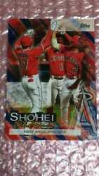 Including Postage 2019 Topps Update Series Shohei Ohtani Player Highlights So-6