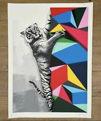 Hama Woods - Climb To Safety - Print Not Whatson Graffiti Prints X/100 Sold Out