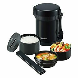 Zojirushi Vacuum Thermos Insulated Lunch Box Bento Food Container Sl-gh18 F/s