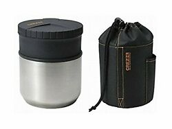 Asuberu Crez Hl Lunchbox Stainless Thermos Hot Bento F/s W/tracking Japan New