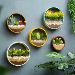 DIY Hanging Wall Vase Flower Plant Pot Silicone Mold Resin Epoxy Mould Craft US