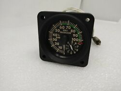 206-075-682-105 Gas Producer Indicator Sn 0352 Oh Bell Helicopter 206 / Uh-1