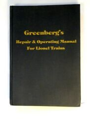 1978 Greenberg's Repair And Operating Manual For Lionel Trains - Railroad 736 Pgs