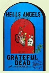 1970 Hell Grateful Sponsored By Angels Dead Concert Posters Hells