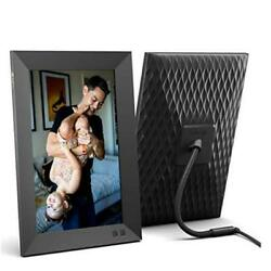 Smart Digital Picture Frame Share Video Clips And Photos Instantly 10.1 Inch