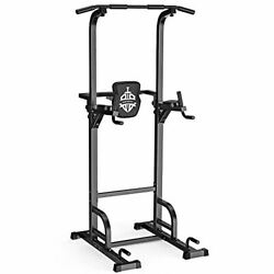Sportsroyals Power Tower Dip Station Pull Up Bar, 400lbs.