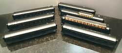 Mth Railking O Scale Norfolk And Western 4-car 2-car Vista Dome 60and039 Streamlined