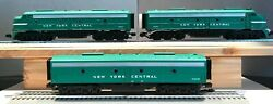 Mth Railking O Scale New York Central E-8 Aa Diesel Engine Set And E-8 B Unit