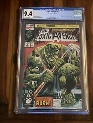 Toxic Avenger 1 Cgc 9.4 White Pages Troma Movie New Slab Kevin Bacon