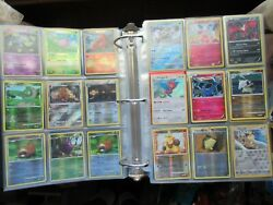 Pokemon 1000 Holo/reverse Holo Cards From All Sets Rares/uncommon/common Nm/mint