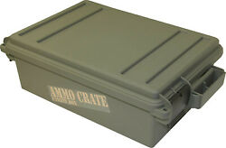 Mtm Ammo Crate Utility Box Army Green Acr4-18