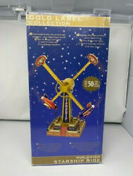 Rare Mr. Christmas Starship Ride Gold Label Collection In Box Musical