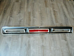 And03969 Dodge Coronet R/t 500 Nos Mopar Tail Panel Trim Trunk Rear Finish Panel Read