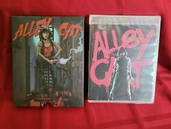 Blu ray ALLEY CAT 1984 Vinegar Syndrome Archive Limited Edition Numbered