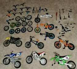 Lot Of Finger Bmx Bikes Dirtbikes And Parts