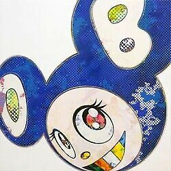 Takashi Murakami Poster And Then Deep Sea Of Group Blue Edition 300 Signed.