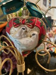 Waterford Crystal Holiday Heirlooms 2 Two Turtle Doves 12 Day Xmas Ornament 1999