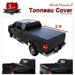 Blk Soft Vinyl Roll-up Tonneau Cover Assembly Fit 04-14 Colorado/canyon 5and039 Bed