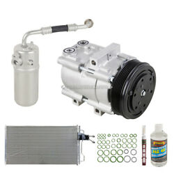 For Ford F-150 2002 2003 Oem Ac Compressor W/ Condenser Drier Csw