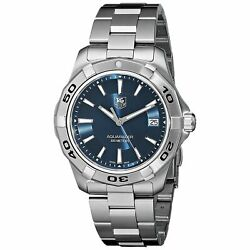 Tag Heuer Wap1112.ba0831 Aquaracer 39mm Menand039s Stainless Steel Watch