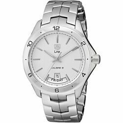 Tag Heuer Wat2011.ba0951 Link 42mm Men's Automatic Stainless Steel Watch
