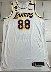 Lakers Markieff Morris 88 Pro Cut Player Jersey Game Worn Nba Finals Issued
