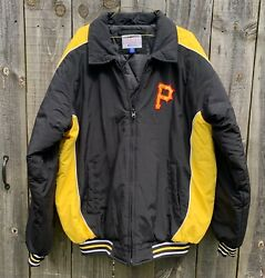 Mlb Pittsburgh Pirates Jacket/coat G-iii Sports Carl Banks Quilted Lining Sz M