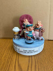 Disney Musical Memories Limited Edition Great Mouse Detective Music Box