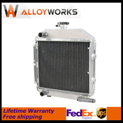 3 Rows Aluminum Radiator Fits Ford New Holland Tractor Sba310100211 1300