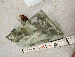Vintage Model T Rear View Mirror Beveled Glass Antique Auto Truck Ford Chevy Dod